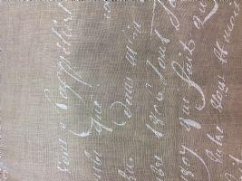 Manifattura italiana tessuti for Tende con scritte